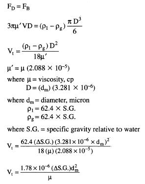 terminal velocity equation derivation. cal-3 terminal velocity equation derivation