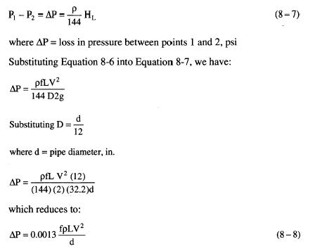 Piping – Darcy's Equation | Oil & Gas Process Engineering