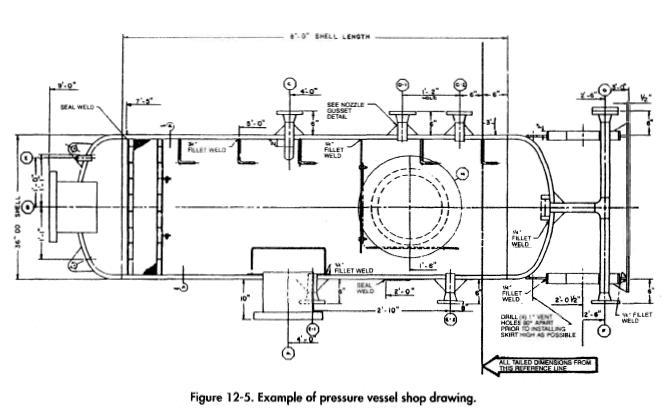 pressure-vessel-shop-drawing